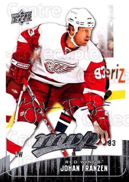 2009-10 Upper Deck MVP #198 Johan Franzen<br/>5 In Stock - $1.00 each - <a href=https://centericecollectibles.foxycart.com/cart?name=2009-10%20Upper%20Deck%20MVP%20%23198%20Johan%20Franzen...&quantity_max=5&price=$1.00&code=293695 class=foxycart> Buy it now! </a>