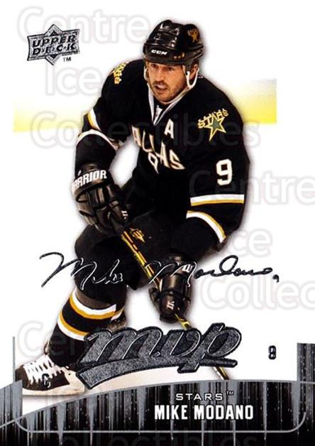 2009-10 Upper Deck MVP #202 Mike Modano<br/>5 In Stock - $1.00 each - <a href=https://centericecollectibles.foxycart.com/cart?name=2009-10%20Upper%20Deck%20MVP%20%23202%20Mike%20Modano...&quantity_max=5&price=$1.00&code=293699 class=foxycart> Buy it now! </a>