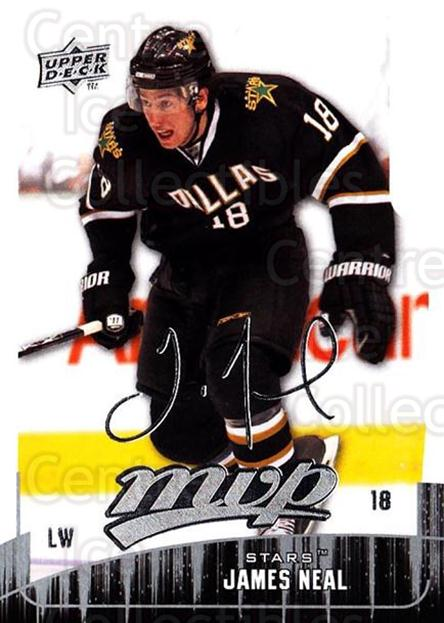 2009-10 Upper Deck MVP #204 James Neal<br/>5 In Stock - $1.00 each - <a href=https://centericecollectibles.foxycart.com/cart?name=2009-10%20Upper%20Deck%20MVP%20%23204%20James%20Neal...&quantity_max=5&price=$1.00&code=293701 class=foxycart> Buy it now! </a>