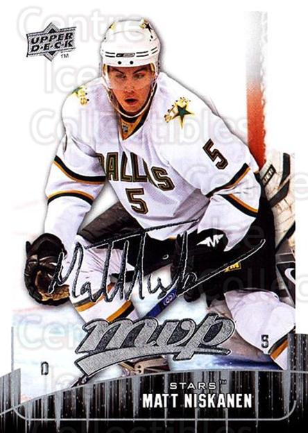 2009-10 Upper Deck MVP #205 Matt Niskanen<br/>5 In Stock - $1.00 each - <a href=https://centericecollectibles.foxycart.com/cart?name=2009-10%20Upper%20Deck%20MVP%20%23205%20Matt%20Niskanen...&quantity_max=5&price=$1.00&code=293702 class=foxycart> Buy it now! </a>