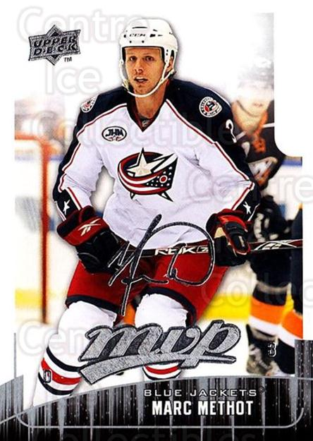 2009-10 Upper Deck MVP #217 Marc Methot<br/>4 In Stock - $1.00 each - <a href=https://centericecollectibles.foxycart.com/cart?name=2009-10%20Upper%20Deck%20MVP%20%23217%20Marc%20Methot...&quantity_max=4&price=$1.00&code=293714 class=foxycart> Buy it now! </a>