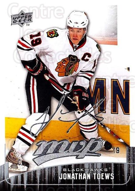 2009-10 Upper Deck MVP #229 Jonathan Toews<br/>4 In Stock - $2.00 each - <a href=https://centericecollectibles.foxycart.com/cart?name=2009-10%20Upper%20Deck%20MVP%20%23229%20Jonathan%20Toews...&quantity_max=4&price=$2.00&code=293726 class=foxycart> Buy it now! </a>