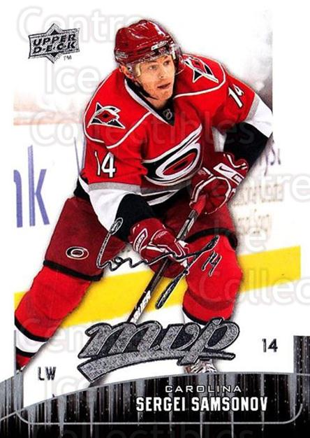 2009-10 Upper Deck MVP #242 Sergei Samsonov<br/>5 In Stock - $1.00 each - <a href=https://centericecollectibles.foxycart.com/cart?name=2009-10%20Upper%20Deck%20MVP%20%23242%20Sergei%20Samsonov...&quantity_max=5&price=$1.00&code=293739 class=foxycart> Buy it now! </a>