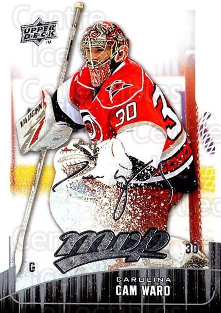 2009-10 Upper Deck MVP #244 Cam Ward<br/>5 In Stock - $1.00 each - <a href=https://centericecollectibles.foxycart.com/cart?name=2009-10%20Upper%20Deck%20MVP%20%23244%20Cam%20Ward...&quantity_max=5&price=$1.00&code=293741 class=foxycart> Buy it now! </a>