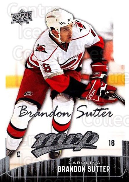 2009-10 Upper Deck MVP #246 Brandon Sutter<br/>5 In Stock - $1.00 each - <a href=https://centericecollectibles.foxycart.com/cart?name=2009-10%20Upper%20Deck%20MVP%20%23246%20Brandon%20Sutter...&quantity_max=5&price=$1.00&code=293743 class=foxycart> Buy it now! </a>