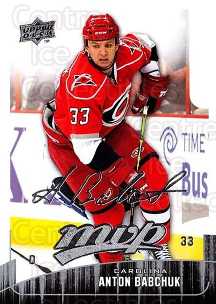 2009-10 Upper Deck MVP #247 Anton Babchuk<br/>5 In Stock - $1.00 each - <a href=https://centericecollectibles.foxycart.com/cart?name=2009-10%20Upper%20Deck%20MVP%20%23247%20Anton%20Babchuk...&quantity_max=5&price=$1.00&code=293744 class=foxycart> Buy it now! </a>