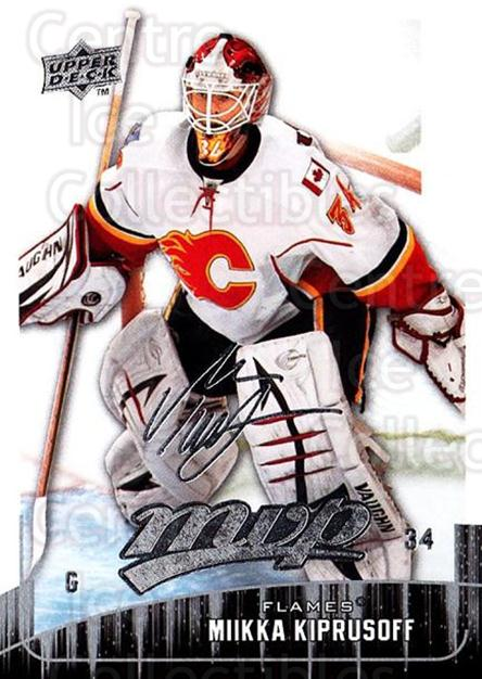 2009-10 Upper Deck MVP #251 Miikka Kiprusoff<br/>4 In Stock - $1.00 each - <a href=https://centericecollectibles.foxycart.com/cart?name=2009-10%20Upper%20Deck%20MVP%20%23251%20Miikka%20Kiprusof...&quantity_max=4&price=$1.00&code=293748 class=foxycart> Buy it now! </a>