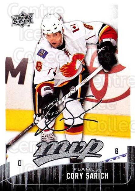 2009-10 Upper Deck MVP #257 Cory Sarich<br/>5 In Stock - $1.00 each - <a href=https://centericecollectibles.foxycart.com/cart?name=2009-10%20Upper%20Deck%20MVP%20%23257%20Cory%20Sarich...&quantity_max=5&price=$1.00&code=293754 class=foxycart> Buy it now! </a>