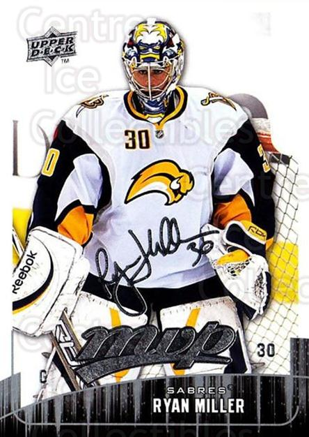 2009-10 Upper Deck MVP #262 Ryan Miller<br/>5 In Stock - $1.00 each - <a href=https://centericecollectibles.foxycart.com/cart?name=2009-10%20Upper%20Deck%20MVP%20%23262%20Ryan%20Miller...&quantity_max=5&price=$1.00&code=293759 class=foxycart> Buy it now! </a>