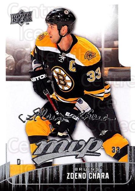 2009-10 Upper Deck MVP #273 Zdeno Chara<br/>4 In Stock - $1.00 each - <a href=https://centericecollectibles.foxycart.com/cart?name=2009-10%20Upper%20Deck%20MVP%20%23273%20Zdeno%20Chara...&quantity_max=4&price=$1.00&code=293770 class=foxycart> Buy it now! </a>