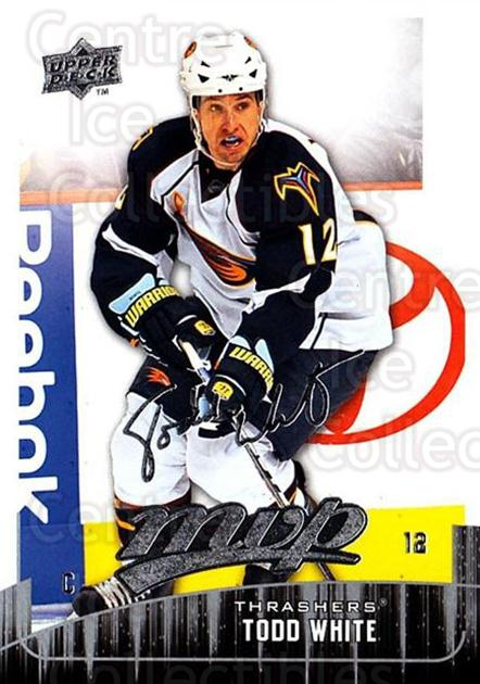 2009-10 Upper Deck MVP #280 Todd White<br/>5 In Stock - $1.00 each - <a href=https://centericecollectibles.foxycart.com/cart?name=2009-10%20Upper%20Deck%20MVP%20%23280%20Todd%20White...&quantity_max=5&price=$1.00&code=293777 class=foxycart> Buy it now! </a>