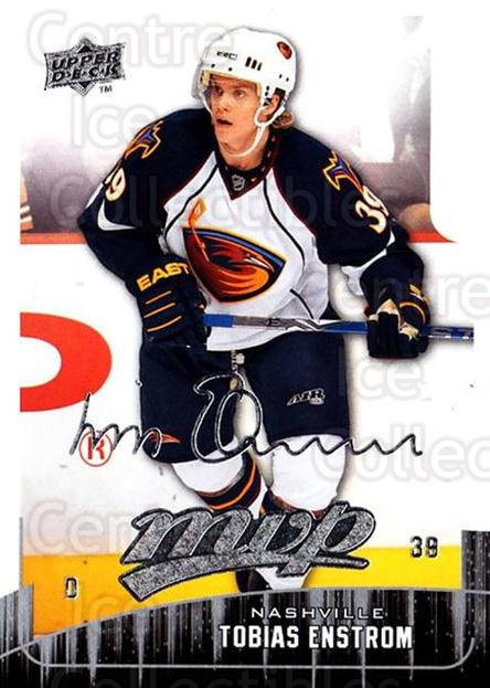 2009-10 Upper Deck MVP #287 Tobias Enstrom<br/>5 In Stock - $1.00 each - <a href=https://centericecollectibles.foxycart.com/cart?name=2009-10%20Upper%20Deck%20MVP%20%23287%20Tobias%20Enstrom...&quantity_max=5&price=$1.00&code=293784 class=foxycart> Buy it now! </a>
