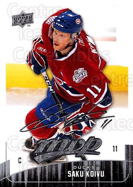 2009-10 Upper Deck MVP #292 Saku Koivu<br/>2 In Stock - $1.00 each - <a href=https://centericecollectibles.foxycart.com/cart?name=2009-10%20Upper%20Deck%20MVP%20%23292%20Saku%20Koivu...&quantity_max=2&price=$1.00&code=293789 class=foxycart> Buy it now! </a>