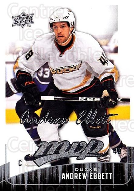2009-10 Upper Deck MVP #296 Andrew Ebbett<br/>3 In Stock - $1.00 each - <a href=https://centericecollectibles.foxycart.com/cart?name=2009-10%20Upper%20Deck%20MVP%20%23296%20Andrew%20Ebbett...&quantity_max=3&price=$1.00&code=293793 class=foxycart> Buy it now! </a>