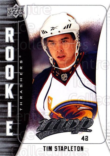 2009-10 Upper Deck MVP #311 Tim Stapleton<br/>2 In Stock - $2.00 each - <a href=https://centericecollectibles.foxycart.com/cart?name=2009-10%20Upper%20Deck%20MVP%20%23311%20Tim%20Stapleton...&quantity_max=2&price=$2.00&code=293808 class=foxycart> Buy it now! </a>