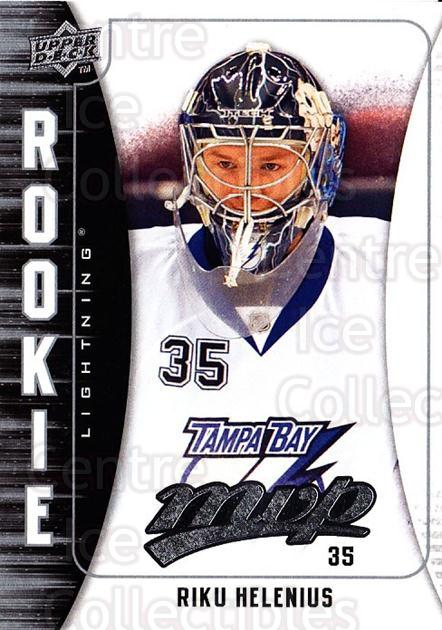 2009-10 Upper Deck MVP #317 Riku Helenius<br/>3 In Stock - $2.00 each - <a href=https://centericecollectibles.foxycart.com/cart?name=2009-10%20Upper%20Deck%20MVP%20%23317%20Riku%20Helenius...&quantity_max=3&price=$2.00&code=293814 class=foxycart> Buy it now! </a>