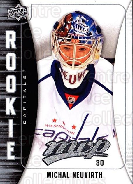2009-10 Upper Deck MVP #320 Michal Neuvirth<br/>3 In Stock - $2.00 each - <a href=https://centericecollectibles.foxycart.com/cart?name=2009-10%20Upper%20Deck%20MVP%20%23320%20Michal%20Neuvirth...&quantity_max=3&price=$2.00&code=293817 class=foxycart> Buy it now! </a>