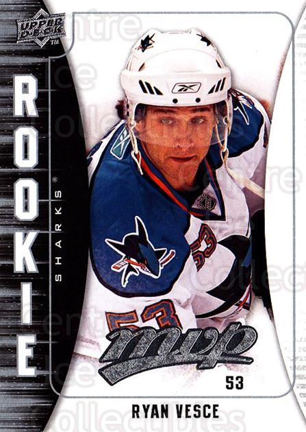 2009-10 Upper Deck MVP #338 Ryan Vesce<br/>3 In Stock - $2.00 each - <a href=https://centericecollectibles.foxycart.com/cart?name=2009-10%20Upper%20Deck%20MVP%20%23338%20Ryan%20Vesce...&quantity_max=3&price=$2.00&code=293835 class=foxycart> Buy it now! </a>