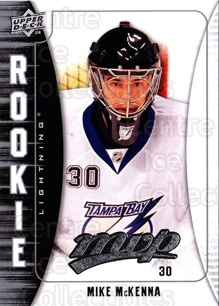 2009-10 Upper Deck MVP #343 Mike McKenna<br/>2 In Stock - $2.00 each - <a href=https://centericecollectibles.foxycart.com/cart?name=2009-10%20Upper%20Deck%20MVP%20%23343%20Mike%20McKenna...&quantity_max=2&price=$2.00&code=293840 class=foxycart> Buy it now! </a>
