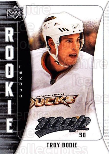 2009-10 Upper Deck MVP #349 Troy Bodie<br/>1 In Stock - $2.00 each - <a href=https://centericecollectibles.foxycart.com/cart?name=2009-10%20Upper%20Deck%20MVP%20%23349%20Troy%20Bodie...&quantity_max=1&price=$2.00&code=293846 class=foxycart> Buy it now! </a>