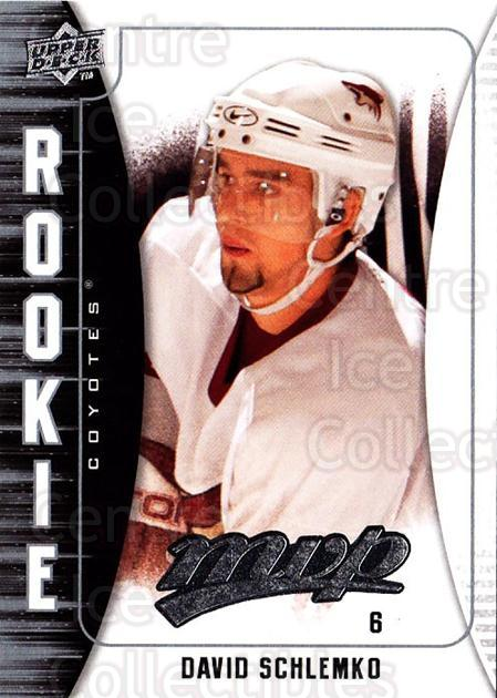 2009-10 Upper Deck MVP #357 David Schlemko<br/>2 In Stock - $2.00 each - <a href=https://centericecollectibles.foxycart.com/cart?name=2009-10%20Upper%20Deck%20MVP%20%23357%20David%20Schlemko...&quantity_max=2&price=$2.00&code=293854 class=foxycart> Buy it now! </a>