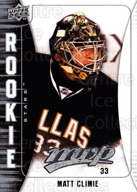 2009-10 Upper Deck MVP #364 Matt Climie<br/>1 In Stock - $2.00 each - <a href=https://centericecollectibles.foxycart.com/cart?name=2009-10%20Upper%20Deck%20MVP%20%23364%20Matt%20Climie...&quantity_max=1&price=$2.00&code=293861 class=foxycart> Buy it now! </a>