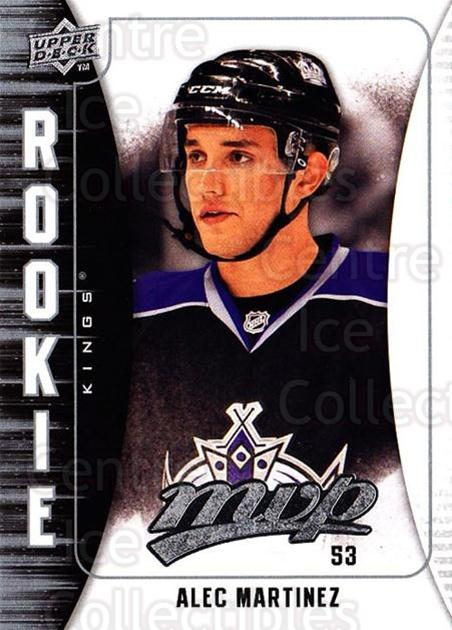 2009-10 Upper Deck MVP #375 Alec Martinez<br/>3 In Stock - $2.00 each - <a href=https://centericecollectibles.foxycart.com/cart?name=2009-10%20Upper%20Deck%20MVP%20%23375%20Alec%20Martinez...&quantity_max=3&price=$2.00&code=293872 class=foxycart> Buy it now! </a>