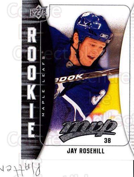 2009-10 Upper Deck MVP #389 Jay Rosehill<br/>2 In Stock - $2.00 each - <a href=https://centericecollectibles.foxycart.com/cart?name=2009-10%20Upper%20Deck%20MVP%20%23389%20Jay%20Rosehill...&quantity_max=2&price=$2.00&code=293886 class=foxycart> Buy it now! </a>