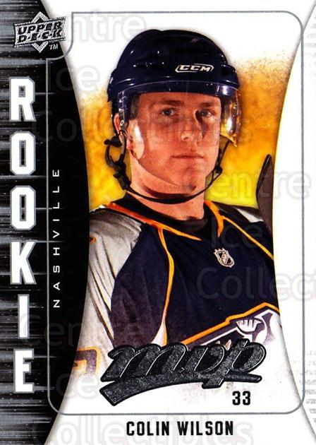 2009-10 Upper Deck MVP #393 Colin Wilson<br/>3 In Stock - $2.00 each - <a href=https://centericecollectibles.foxycart.com/cart?name=2009-10%20Upper%20Deck%20MVP%20%23393%20Colin%20Wilson...&quantity_max=3&price=$2.00&code=293890 class=foxycart> Buy it now! </a>