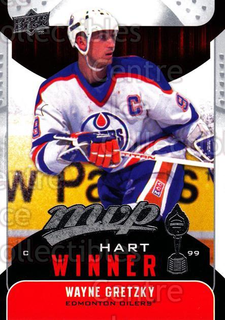 2009-10 Upper Deck MVP Hart Winners #10 Wayne Gretzky<br/>1 In Stock - $5.00 each - <a href=https://centericecollectibles.foxycart.com/cart?name=2009-10%20Upper%20Deck%20MVP%20Hart%20Winners%20%2310%20Wayne%20Gretzky...&price=$5.00&code=293901 class=foxycart> Buy it now! </a>
