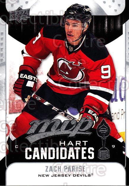 2009-10 Upper Deck MVP Hart Candidates #3 Zach Parise<br/>7 In Stock - $2.00 each - <a href=https://centericecollectibles.foxycart.com/cart?name=2009-10%20Upper%20Deck%20MVP%20Hart%20Candidates%20%233%20Zach%20Parise...&quantity_max=7&price=$2.00&code=293904 class=foxycart> Buy it now! </a>