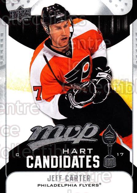 2009-10 Upper Deck MVP Hart Candidates #5 Jeff Carter<br/>7 In Stock - $2.00 each - <a href=https://centericecollectibles.foxycart.com/cart?name=2009-10%20Upper%20Deck%20MVP%20Hart%20Candidates%20%235%20Jeff%20Carter...&quantity_max=7&price=$2.00&code=293906 class=foxycart> Buy it now! </a>
