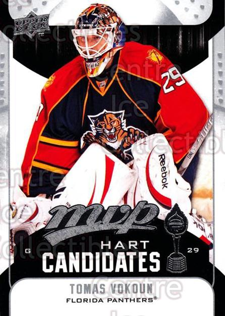 2009-10 Upper Deck MVP Hart Candidates #9 Tomas Vokoun<br/>3 In Stock - $2.00 each - <a href=https://centericecollectibles.foxycart.com/cart?name=2009-10%20Upper%20Deck%20MVP%20Hart%20Candidates%20%239%20Tomas%20Vokoun...&quantity_max=3&price=$2.00&code=293910 class=foxycart> Buy it now! </a>