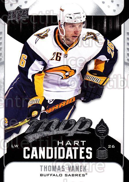 2009-10 Upper Deck MVP Hart Candidates #10 Thomas Vanek<br/>5 In Stock - $2.00 each - <a href=https://centericecollectibles.foxycart.com/cart?name=2009-10%20Upper%20Deck%20MVP%20Hart%20Candidates%20%2310%20Thomas%20Vanek...&quantity_max=5&price=$2.00&code=293911 class=foxycart> Buy it now! </a>