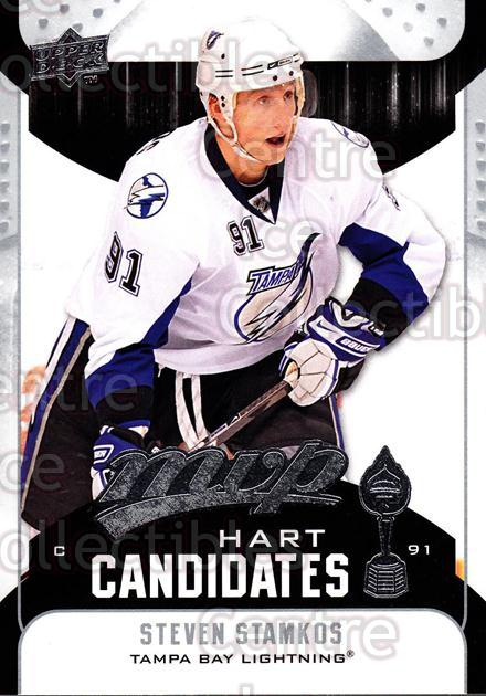 2009-10 Upper Deck MVP Hart Candidates #14 Steven Stamkos<br/>6 In Stock - $2.00 each - <a href=https://centericecollectibles.foxycart.com/cart?name=2009-10%20Upper%20Deck%20MVP%20Hart%20Candidates%20%2314%20Steven%20Stamkos...&price=$2.00&code=293915 class=foxycart> Buy it now! </a>
