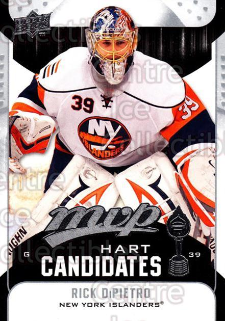2009-10 Upper Deck MVP Hart Candidates #15 Rick DiPietro<br/>6 In Stock - $2.00 each - <a href=https://centericecollectibles.foxycart.com/cart?name=2009-10%20Upper%20Deck%20MVP%20Hart%20Candidates%20%2315%20Rick%20DiPietro...&quantity_max=6&price=$2.00&code=293916 class=foxycart> Buy it now! </a>