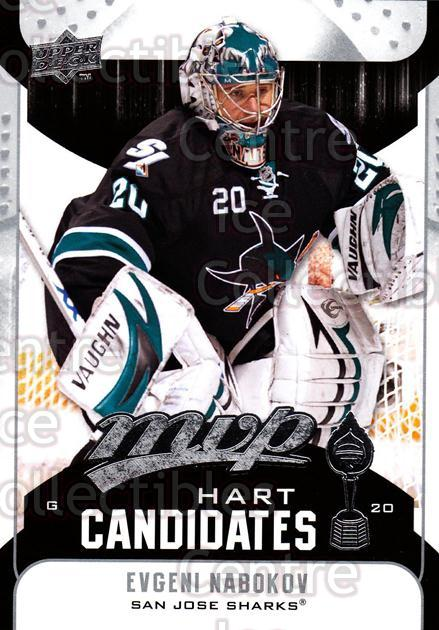2009-10 Upper Deck MVP Hart Candidates #16 Evgeni Nabokov<br/>7 In Stock - $2.00 each - <a href=https://centericecollectibles.foxycart.com/cart?name=2009-10%20Upper%20Deck%20MVP%20Hart%20Candidates%20%2316%20Evgeni%20Nabokov...&quantity_max=7&price=$2.00&code=293917 class=foxycart> Buy it now! </a>