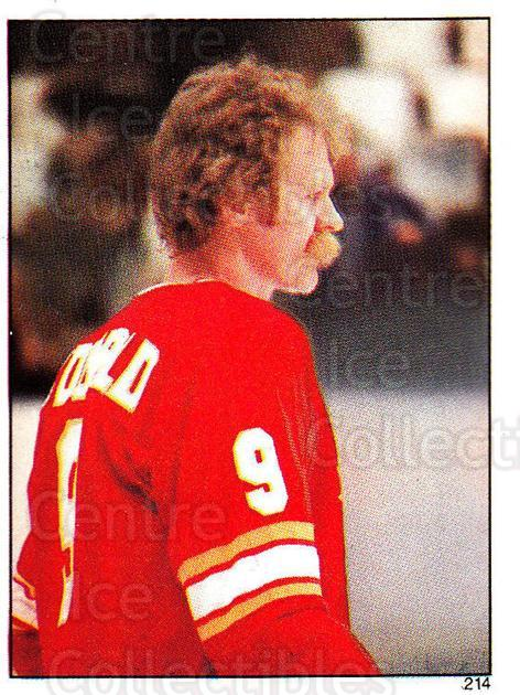 1982-83 O-Pee-Chee Stickers #214 Lanny McDonald<br/>4 In Stock - $2.00 each - <a href=https://centericecollectibles.foxycart.com/cart?name=1982-83%20O-Pee-Chee%20Stickers%20%23214%20Lanny%20McDonald...&quantity_max=4&price=$2.00&code=29391 class=foxycart> Buy it now! </a>