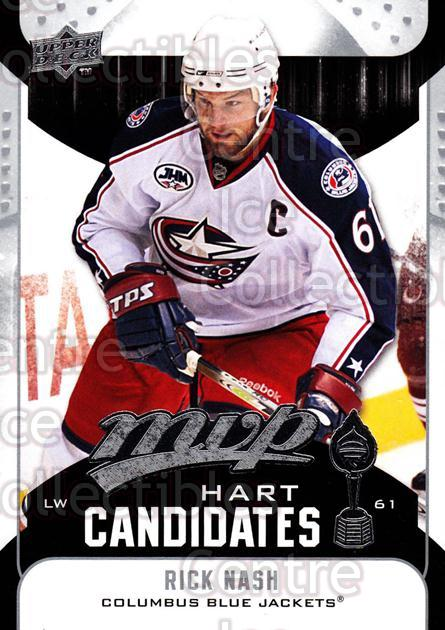 2009-10 Upper Deck MVP Hart Candidates #22 Rick Nash<br/>7 In Stock - $2.00 each - <a href=https://centericecollectibles.foxycart.com/cart?name=2009-10%20Upper%20Deck%20MVP%20Hart%20Candidates%20%2322%20Rick%20Nash...&quantity_max=7&price=$2.00&code=293923 class=foxycart> Buy it now! </a>