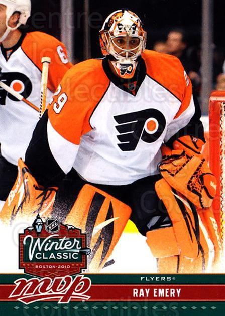 2009-10 Upper Deck MVP Winter Classic #4 Ray Emery<br/>7 In Stock - $2.00 each - <a href=https://centericecollectibles.foxycart.com/cart?name=2009-10%20Upper%20Deck%20MVP%20Winter%20Classic%20%234%20Ray%20Emery...&quantity_max=7&price=$2.00&code=293935 class=foxycart> Buy it now! </a>