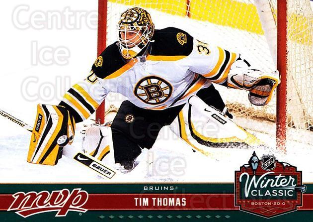 2009-10 Upper Deck MVP Winter Classic #11 Tim Thomas<br/>10 In Stock - $2.00 each - <a href=https://centericecollectibles.foxycart.com/cart?name=2009-10%20Upper%20Deck%20MVP%20Winter%20Classic%20%2311%20Tim%20Thomas...&quantity_max=10&price=$2.00&code=293942 class=foxycart> Buy it now! </a>