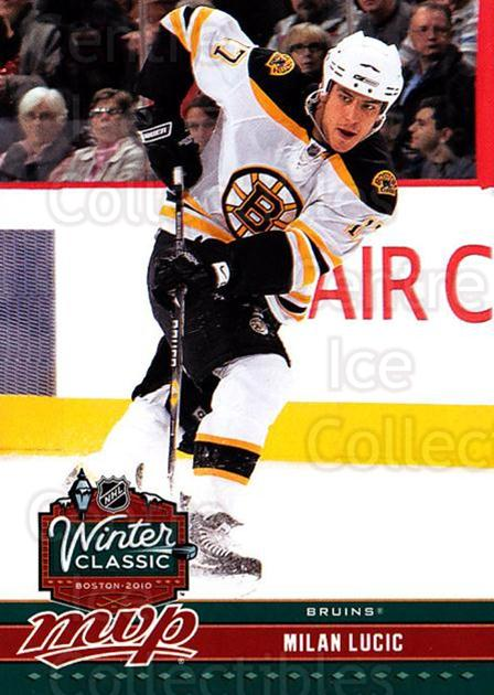 2009-10 Upper Deck MVP Winter Classic #14 Milan Lucic<br/>12 In Stock - $2.00 each - <a href=https://centericecollectibles.foxycart.com/cart?name=2009-10%20Upper%20Deck%20MVP%20Winter%20Classic%20%2314%20Milan%20Lucic...&quantity_max=12&price=$2.00&code=293945 class=foxycart> Buy it now! </a>