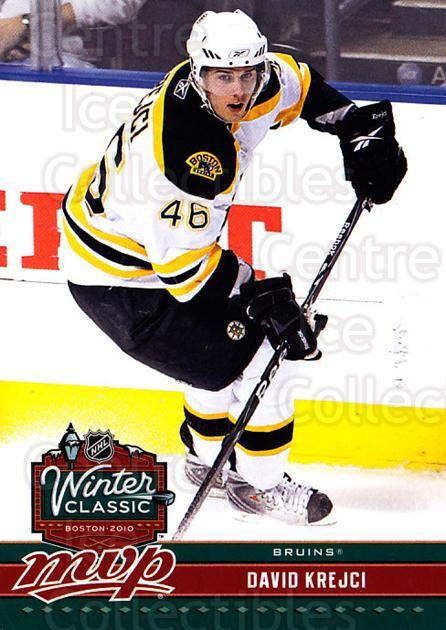 2009-10 Upper Deck MVP Winter Classic #16 David Krejci<br/>11 In Stock - $2.00 each - <a href=https://centericecollectibles.foxycart.com/cart?name=2009-10%20Upper%20Deck%20MVP%20Winter%20Classic%20%2316%20David%20Krejci...&quantity_max=11&price=$2.00&code=293947 class=foxycart> Buy it now! </a>