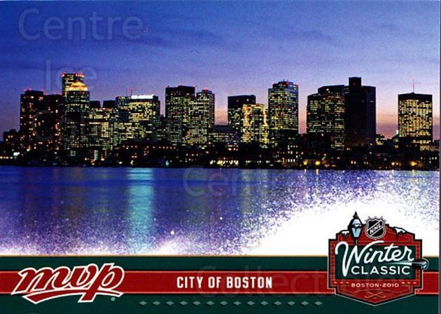 2009-10 Upper Deck MVP Winter Classic #19 City of Boston<br/>11 In Stock - $2.00 each - <a href=https://centericecollectibles.foxycart.com/cart?name=2009-10%20Upper%20Deck%20MVP%20Winter%20Classic%20%2319%20City%20of%20Boston...&quantity_max=11&price=$2.00&code=293950 class=foxycart> Buy it now! </a>