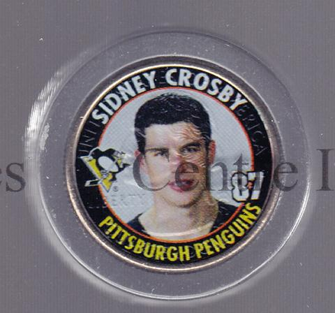 2006 Merrick Mint NHL Collection Coins #19 Sidney Crosby<br/>1 In Stock - $5.00 each - <a href=https://centericecollectibles.foxycart.com/cart?name=2006%20Merrick%20Mint%20NHL%20Collection%20Coins%20%2319%20Sidney%20Crosby...&price=$5.00&code=293970 class=foxycart> Buy it now! </a>