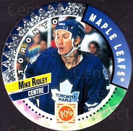 1994-95 Canada Games NHL POGS #236 Mike Ridley<br/>8 In Stock - $1.00 each - <a href=https://centericecollectibles.foxycart.com/cart?name=1994-95%20Canada%20Games%20NHL%20POGS%20%23236%20Mike%20Ridley...&quantity_max=8&price=$1.00&code=2943 class=foxycart> Buy it now! </a>
