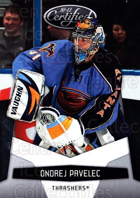 2010-11 Certified #10 Ondrej Pavelec<br/>2 In Stock - $1.00 each - <a href=https://centericecollectibles.foxycart.com/cart?name=2010-11%20Certified%20%2310%20Ondrej%20Pavelec...&quantity_max=2&price=$1.00&code=294614 class=foxycart> Buy it now! </a>