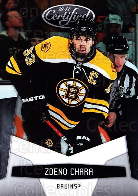 2010-11 Certified #13 Zdeno Chara<br/>2 In Stock - $1.00 each - <a href=https://centericecollectibles.foxycart.com/cart?name=2010-11%20Certified%20%2313%20Zdeno%20Chara...&quantity_max=2&price=$1.00&code=294617 class=foxycart> Buy it now! </a>