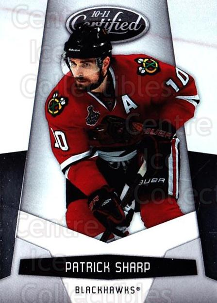 2010-11 Certified #35 Patrick Sharp<br/>3 In Stock - $1.00 each - <a href=https://centericecollectibles.foxycart.com/cart?name=2010-11%20Certified%20%2335%20Patrick%20Sharp...&quantity_max=3&price=$1.00&code=294639 class=foxycart> Buy it now! </a>