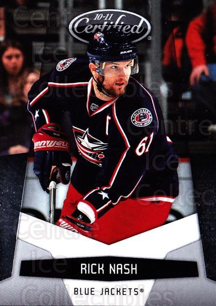2010-11 Certified #42 Rick Nash<br/>4 In Stock - $1.00 each - <a href=https://centericecollectibles.foxycart.com/cart?name=2010-11%20Certified%20%2342%20Rick%20Nash...&quantity_max=4&price=$1.00&code=294646 class=foxycart> Buy it now! </a>